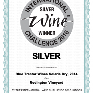 Solaris Dry – Silver International Wine Challenge award 2016